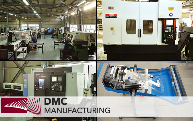 A modern production company specialized in the production of mechanical parts with an assembly department for building modules and total assemblies.
